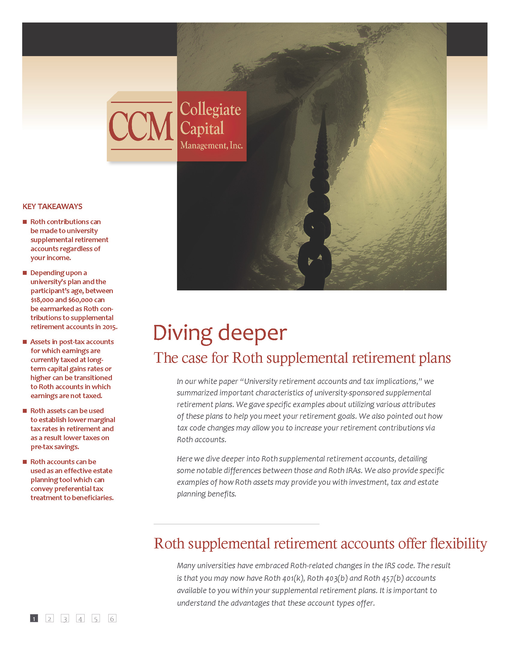White Paper: Diving Deeper- The case for Roth supplemental retirement plans